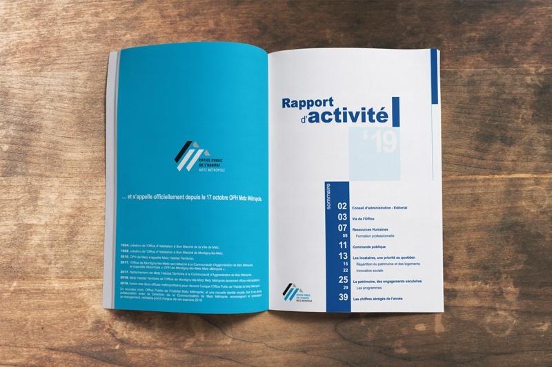 Illustration rapport d'activité 2019