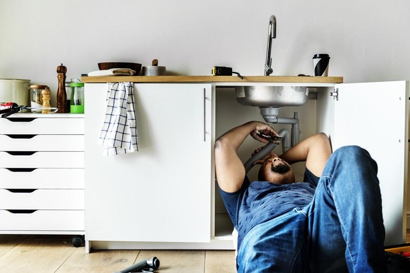 Photo d'illustration d'un plombier