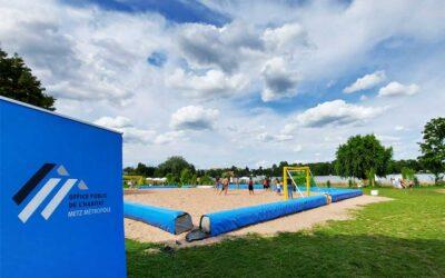Metz Plage : retour en image sur notre tournoi de Beach Soccer !
